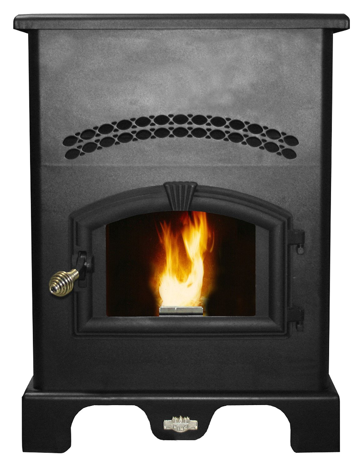 get quotations a us stove 5500m king pellet burner with igniter