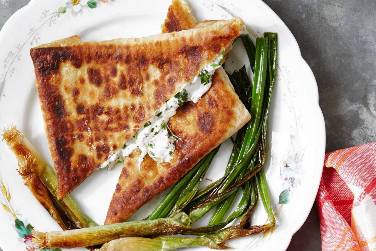 bonnie morales s recipe for lavash pockets with smoked cheese and herbs wsj