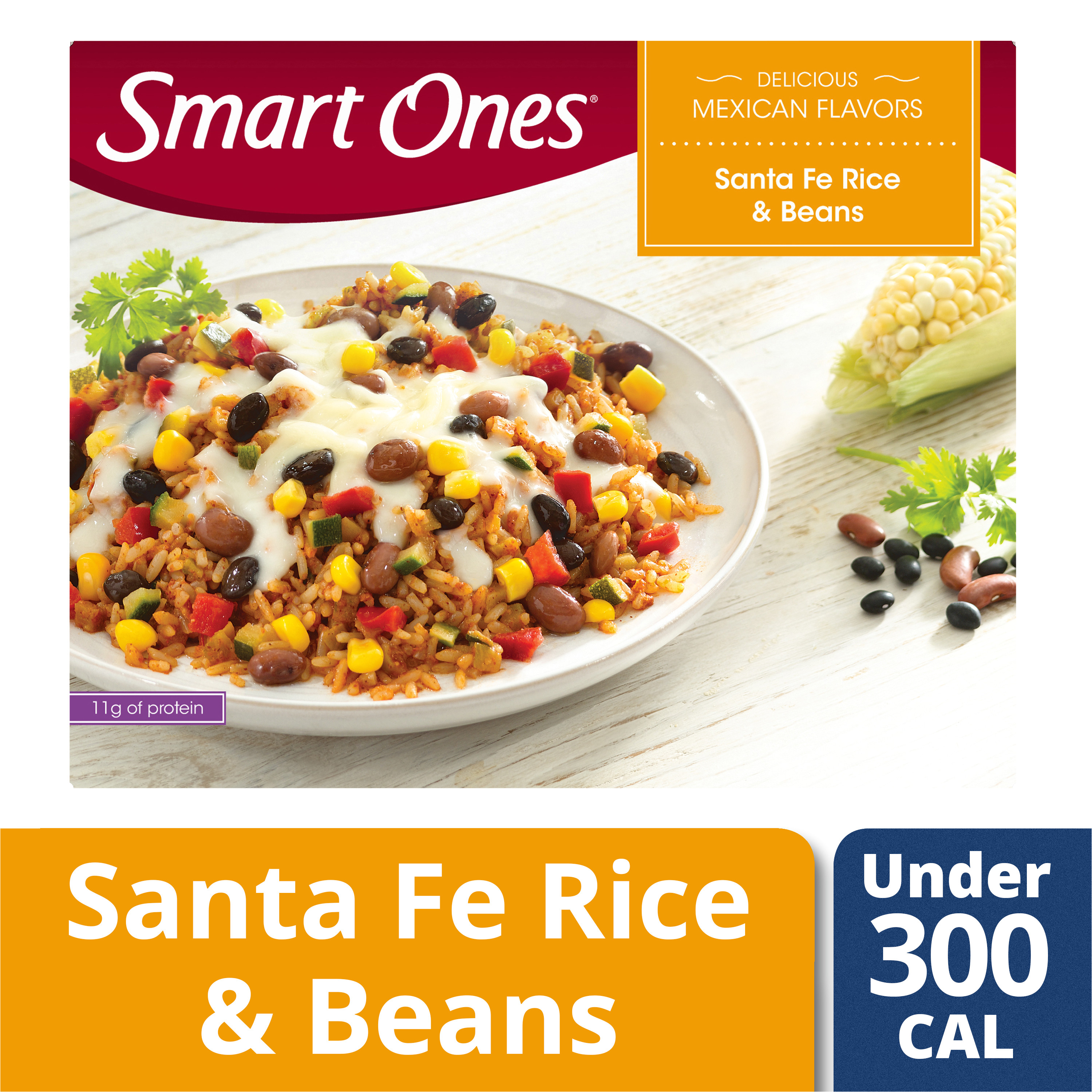 weight watchers smart ones delicious mexican flavors santa fe rice beans 9 oz box walmart com