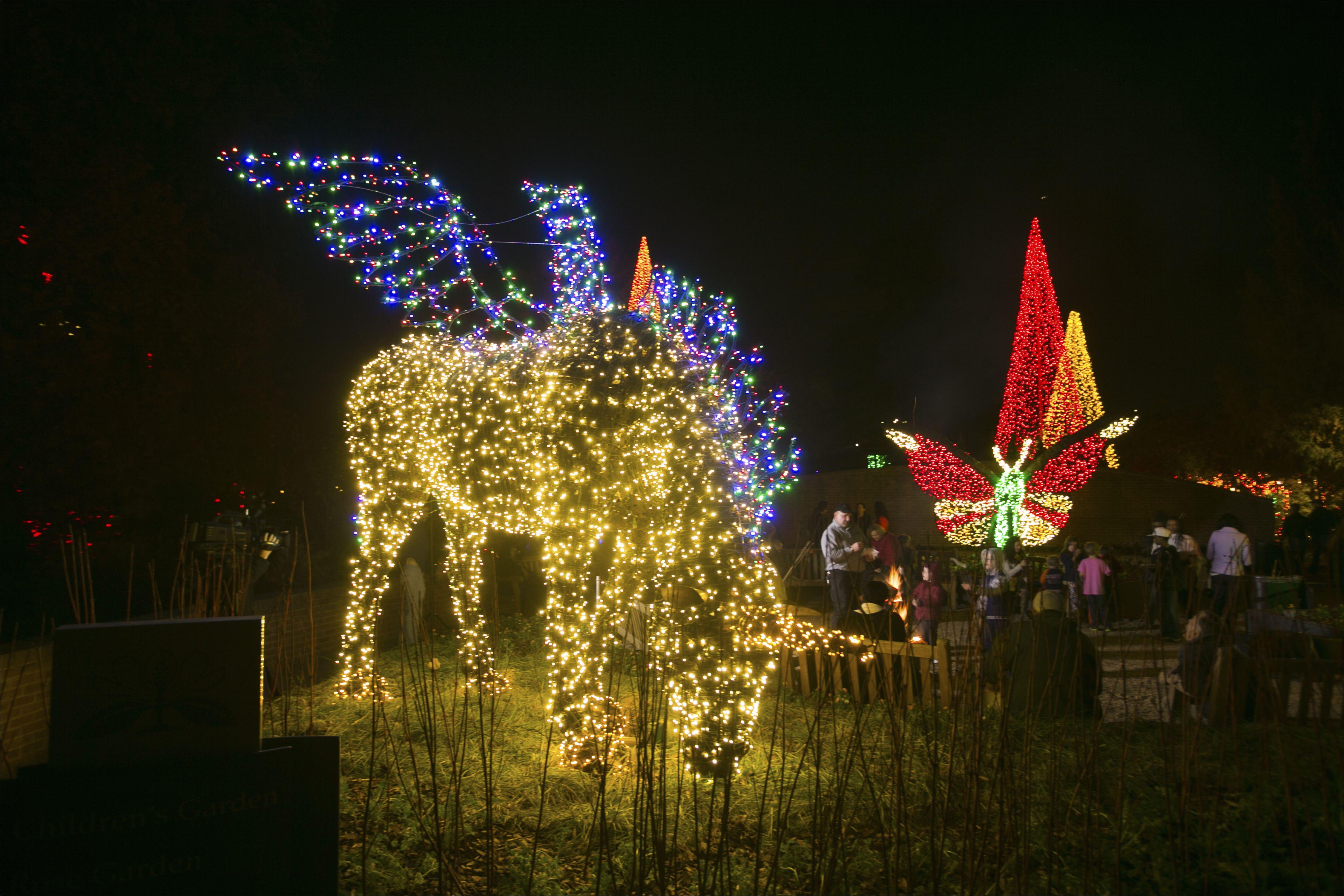 show surprising garden lights atlanta botanical garden in ice goddess at garden lights holiday nights