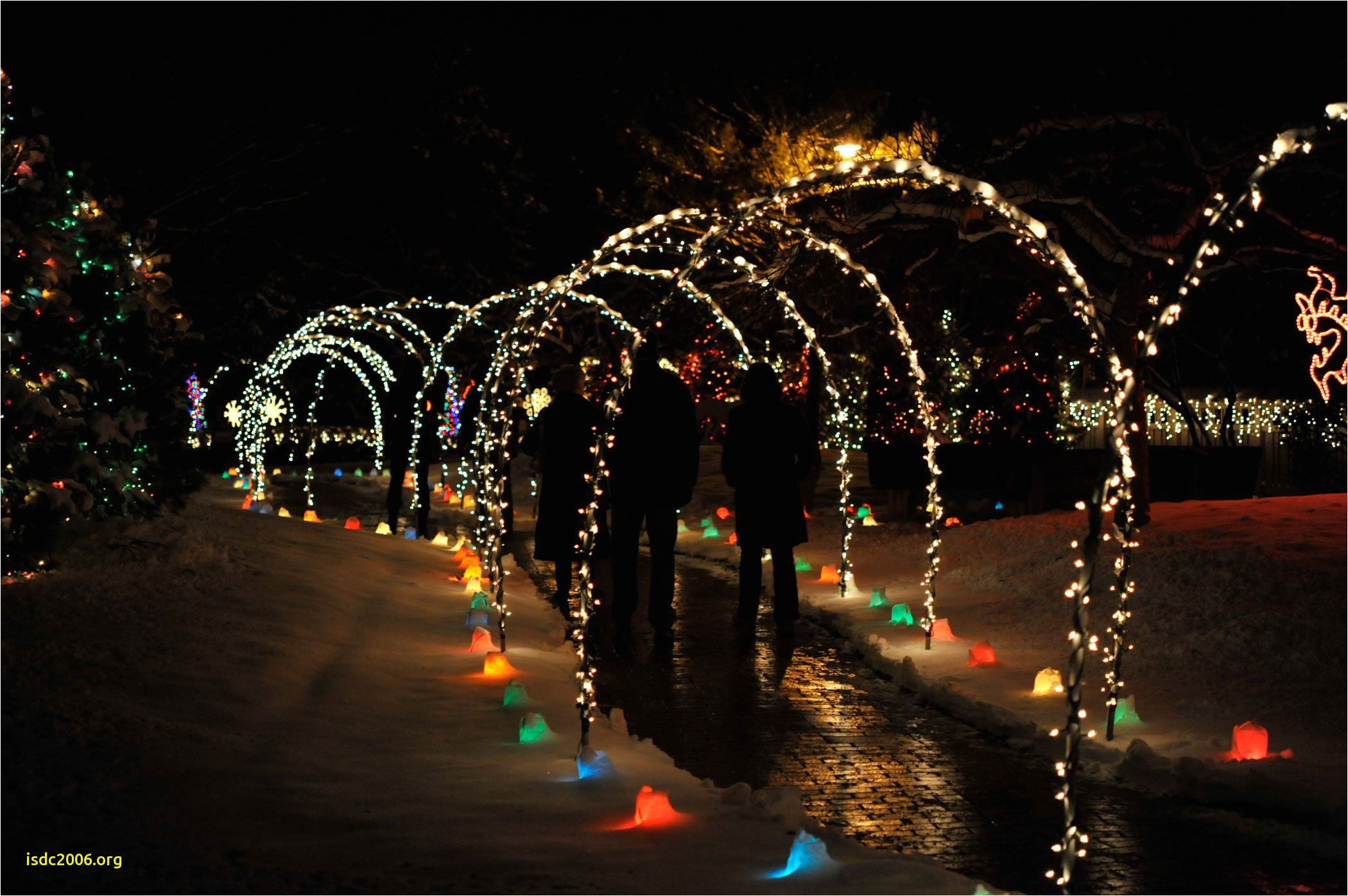 rotary gardens holiday light show