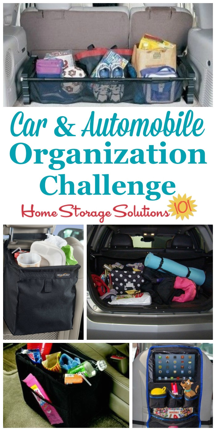 step by step instructions for car organization so you don t have to be embarrassed