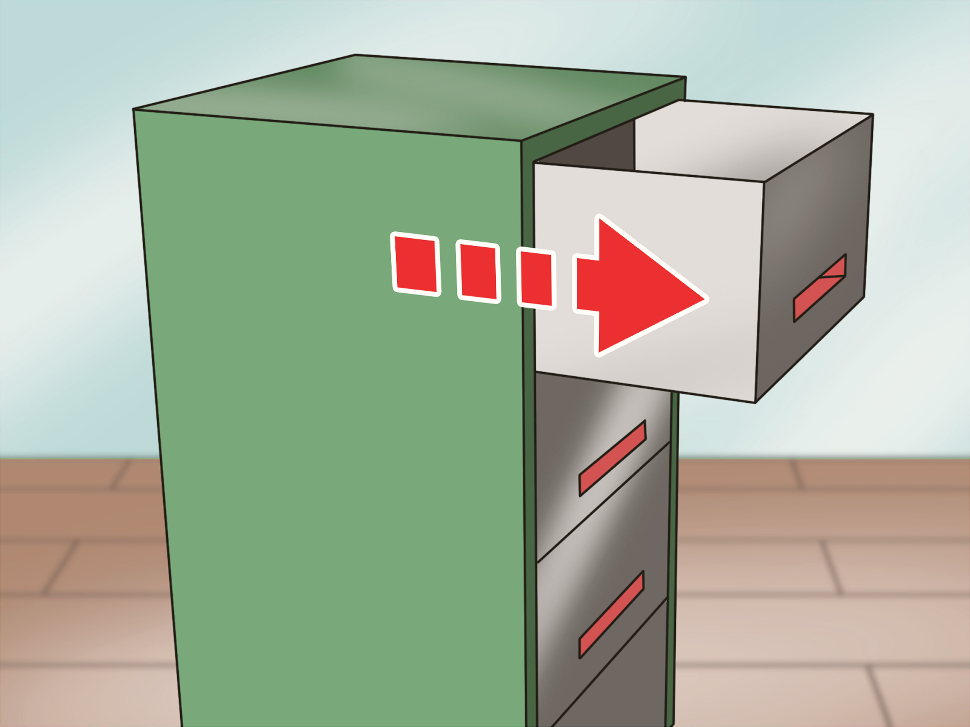 pick a filing cabinet lock step 11 jpg