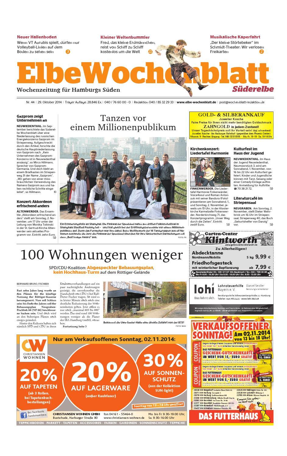 suderelbe kw44 2014 by elbe wochenblatt verlagsgesellschaft mbh co kg issuu