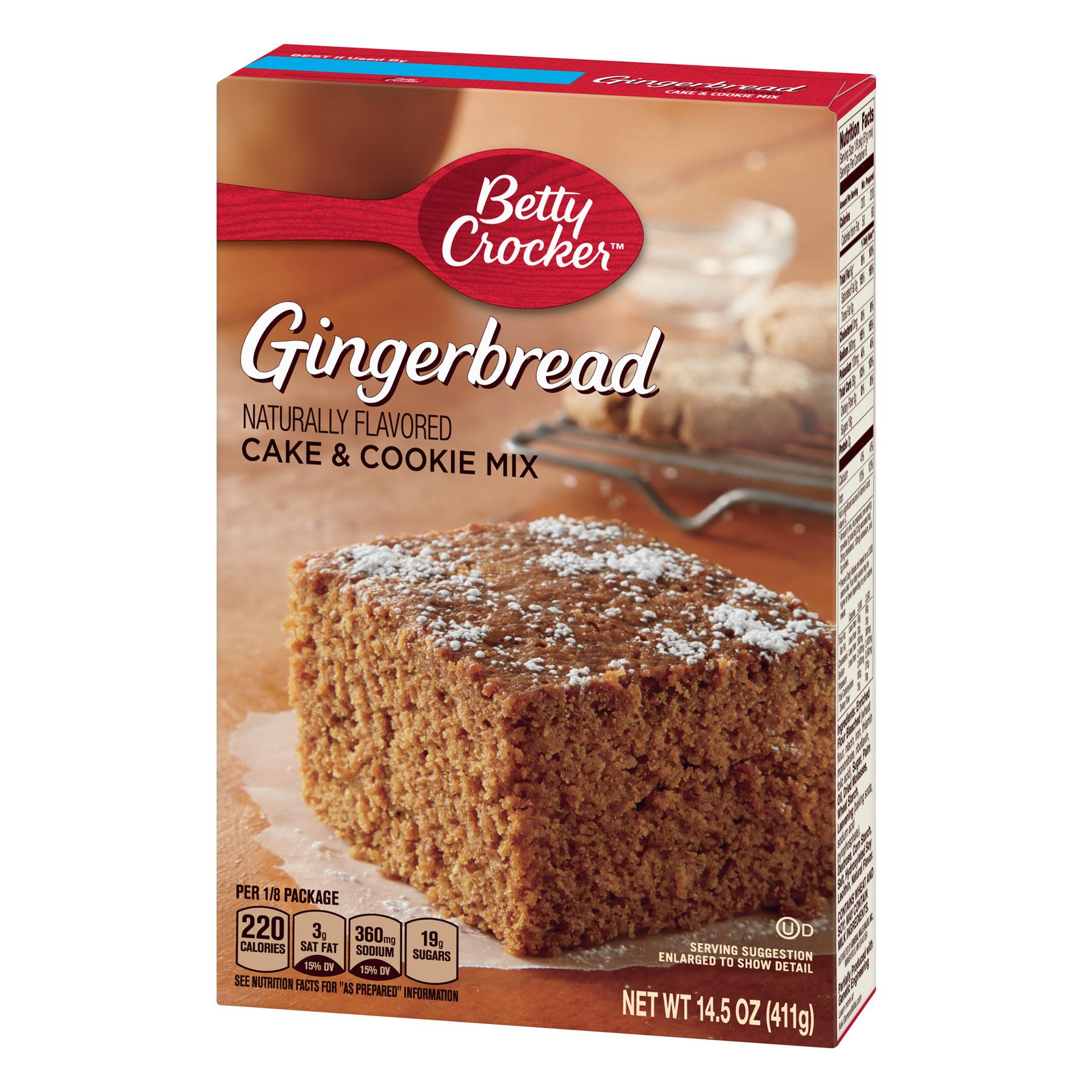 Honolulu Cookie Company Free Shipping Betty Crocker Gingerbread Cake and Cookie Mix 14 5 Oz Walmart Com