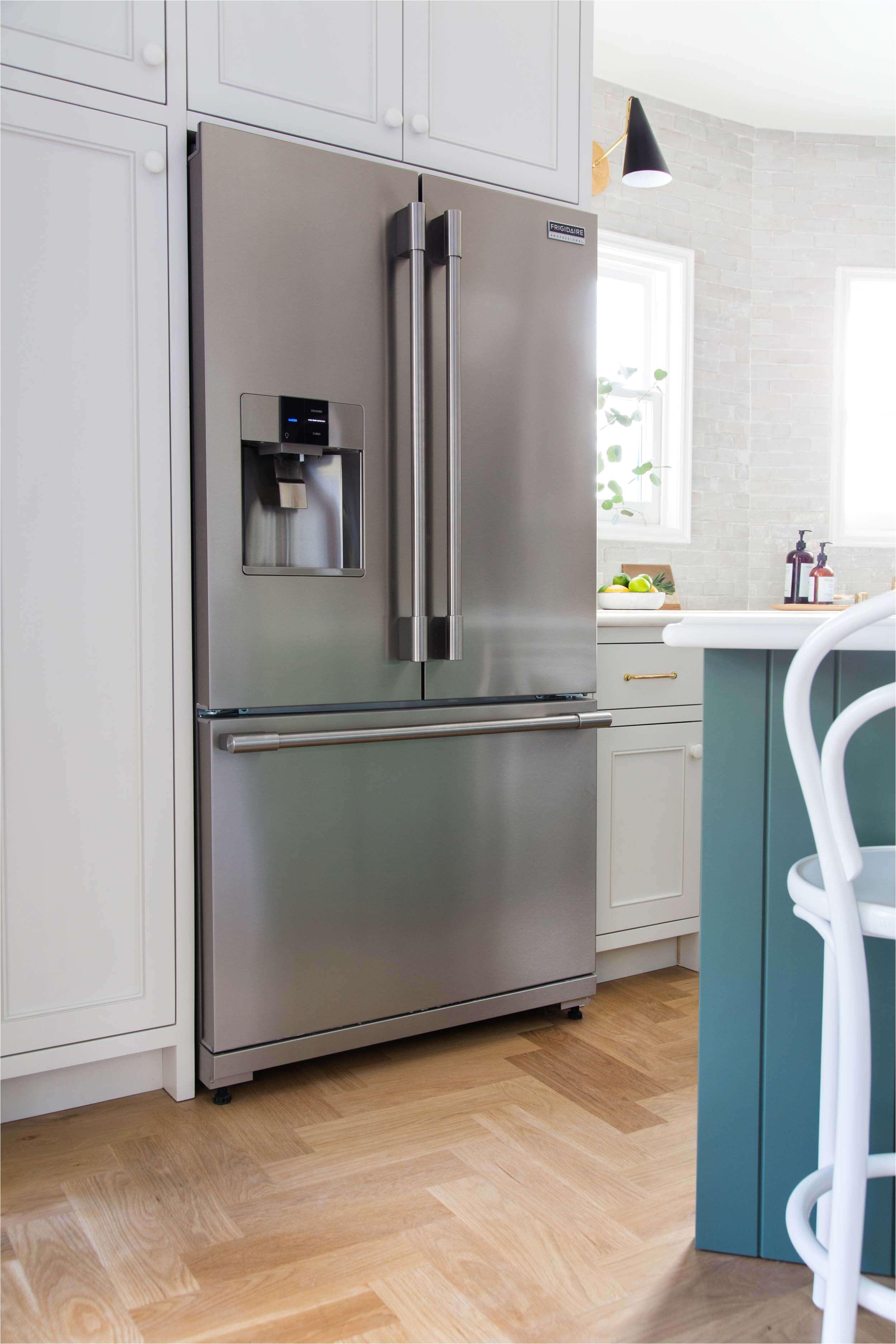 emily henderson full kitchen reveal waverly frigidaire 201
