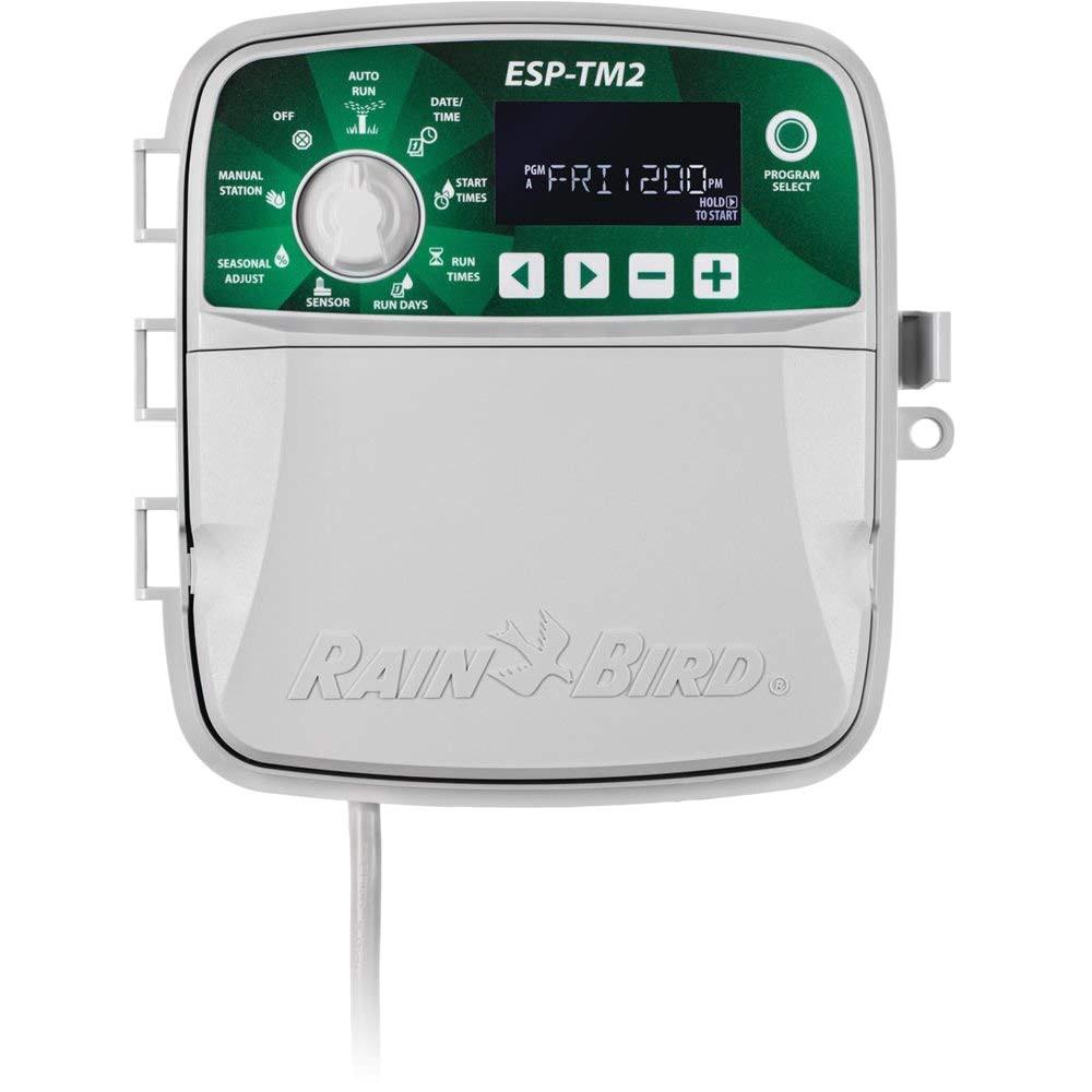amazon com rain bird esp tm2 irrigation controller wifi module not included 6 zones rainbird tm2 6 garden outdoor