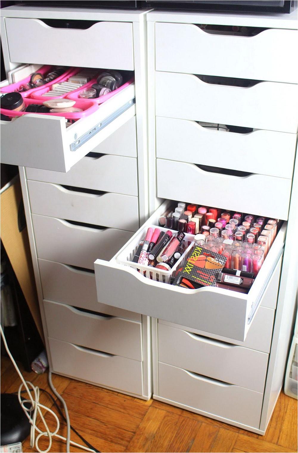 ikea makeup organizer scarf hanger ikea ikea alex 9 drawer dupe