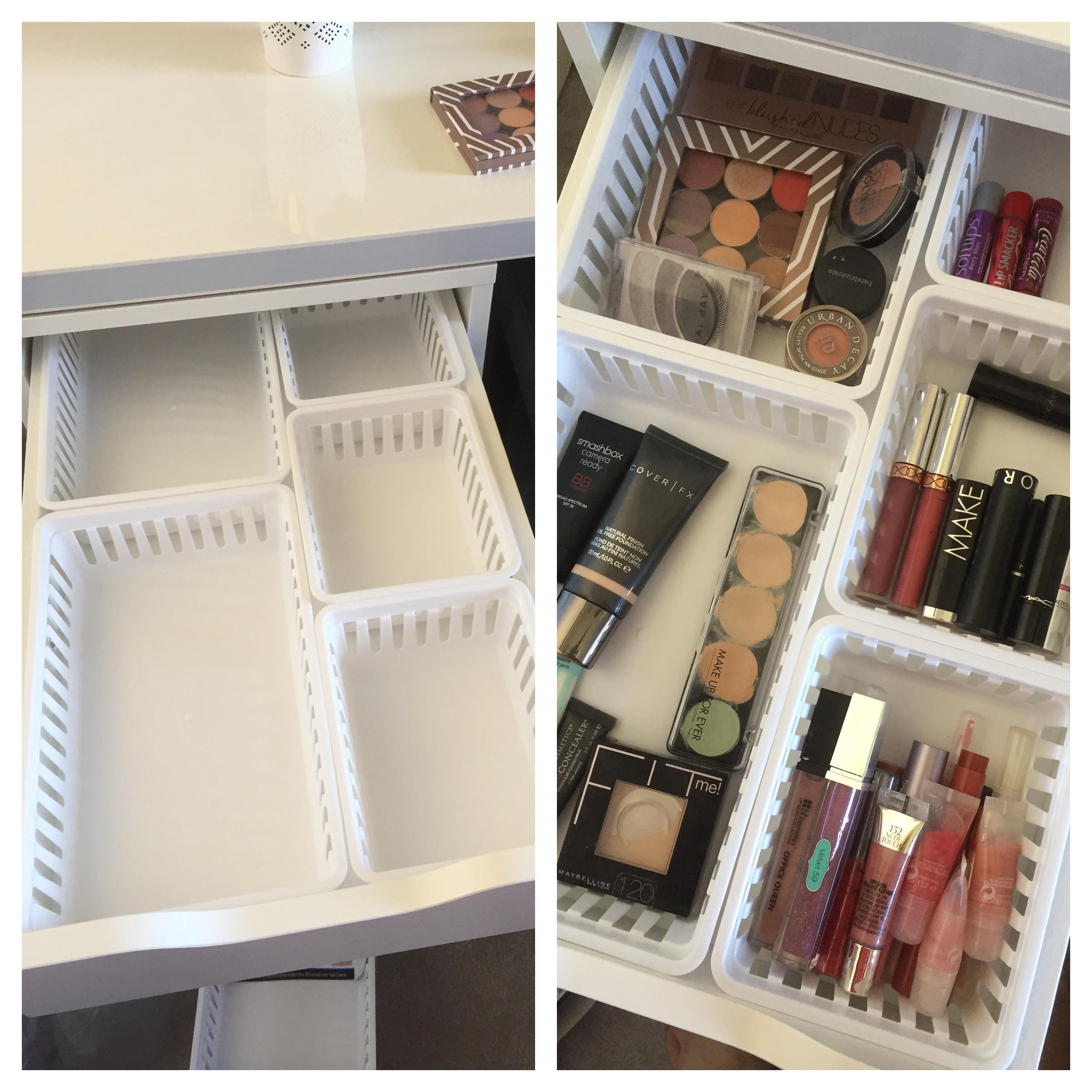 alex drawers dupe ikea lipstick holder ikea makeup organizer