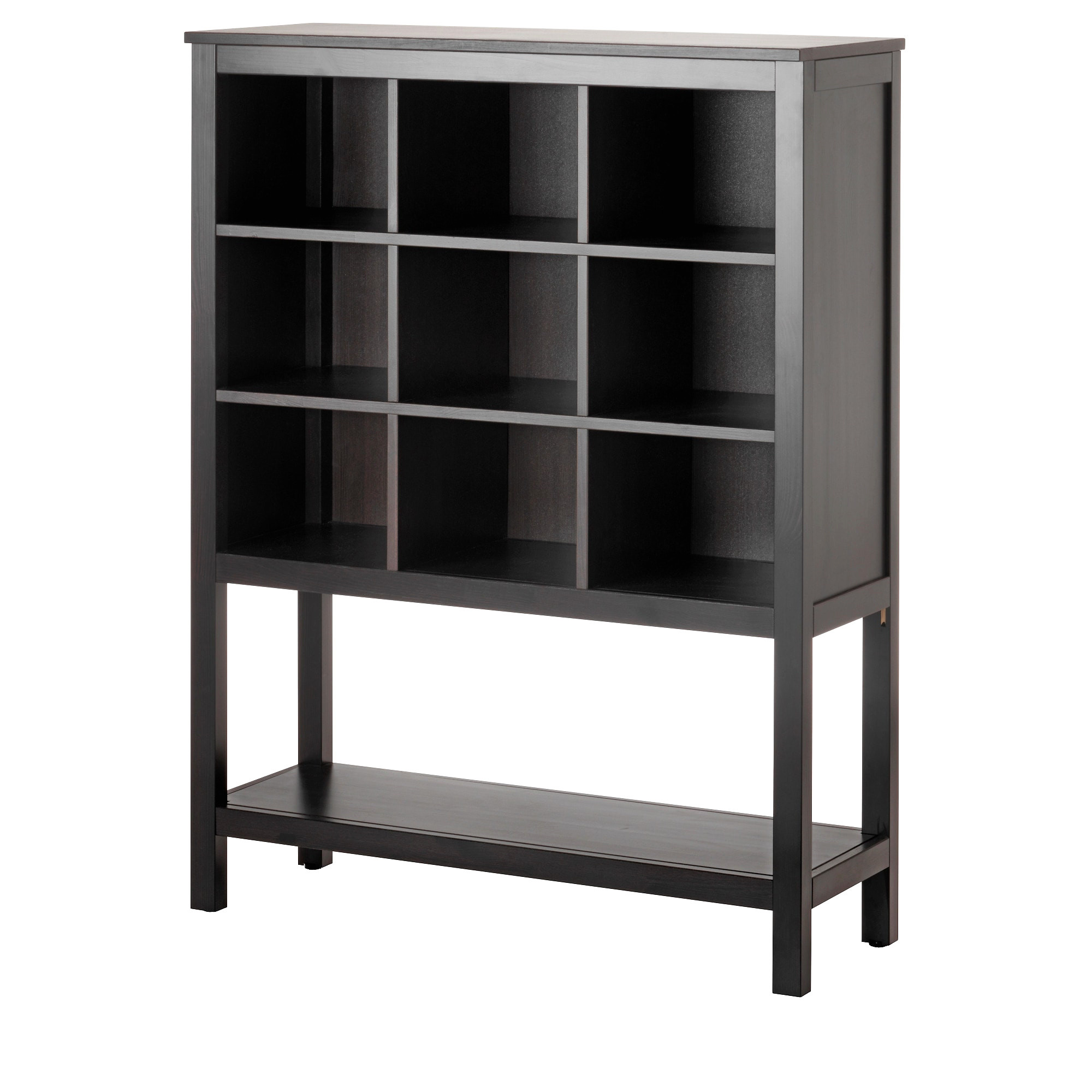 Ikea Brimnes Wardrobe with 3 Doors Black Rack Schrank