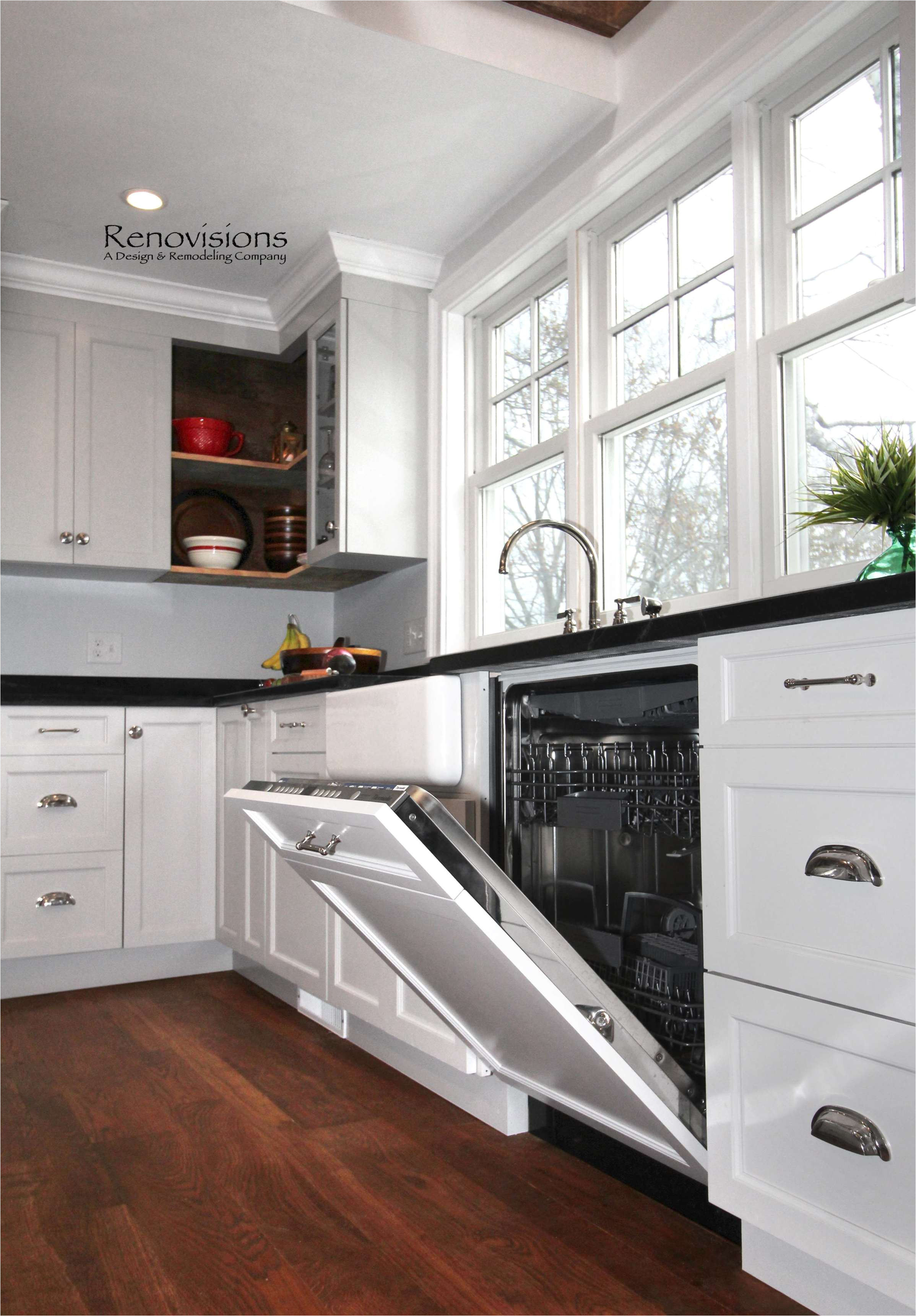 home improvement ikea dishwasher panel with cabinet luxury kitchen remodel by renovisions in