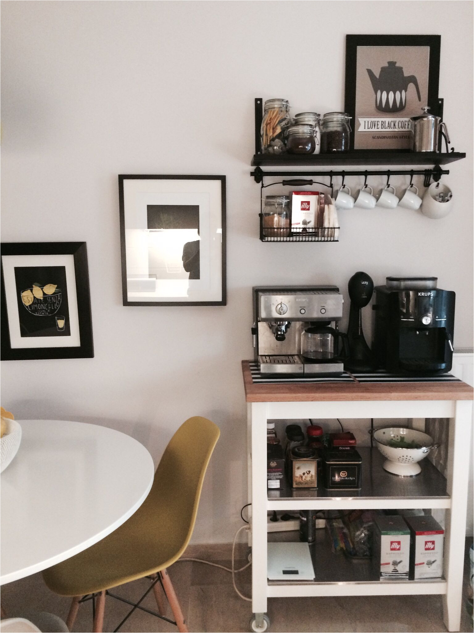 ikea coffee station