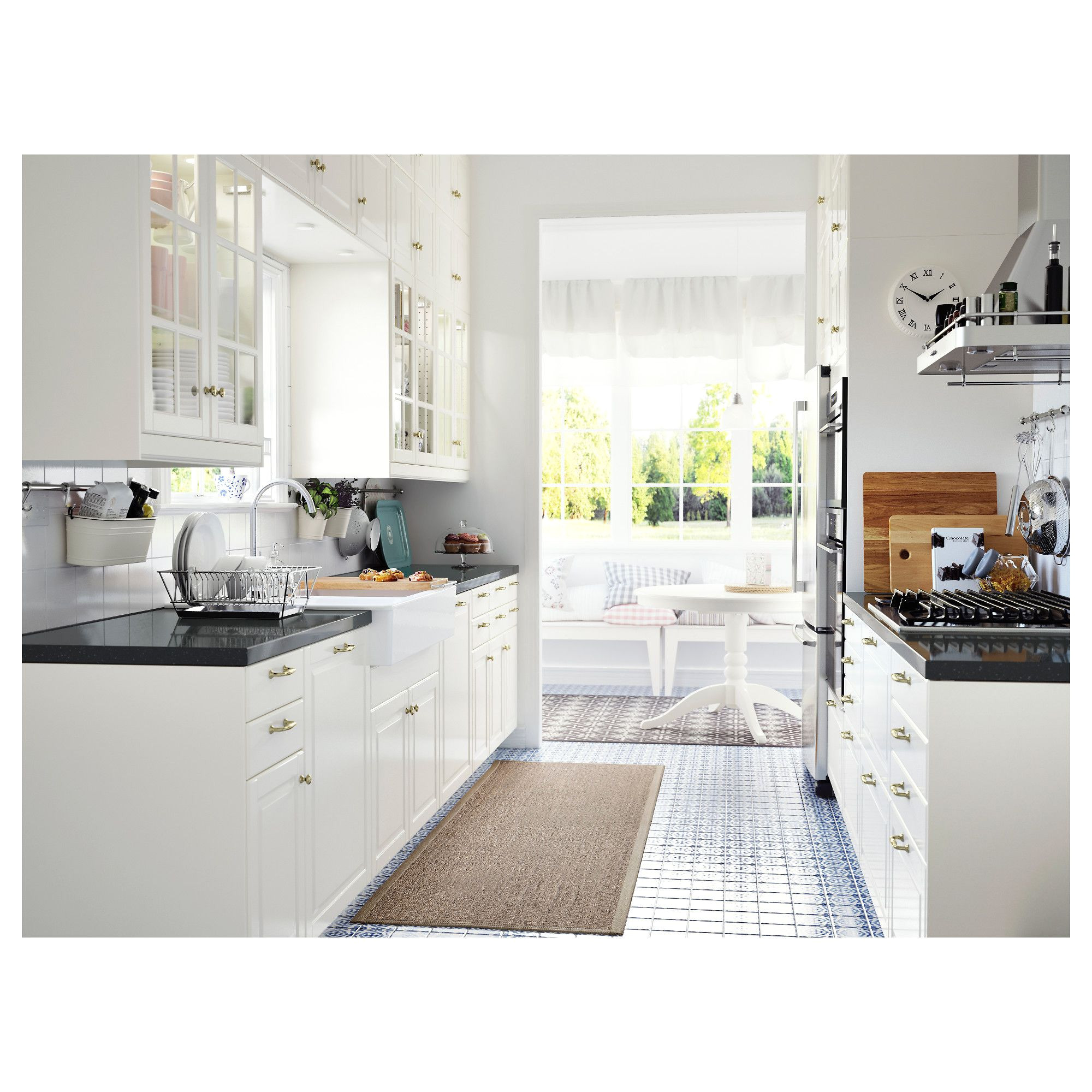 ikea bodbyn door 18x30 bodbyn door has a frame and a bevelled panel that give it a distinct traditional character creamy off white brings a