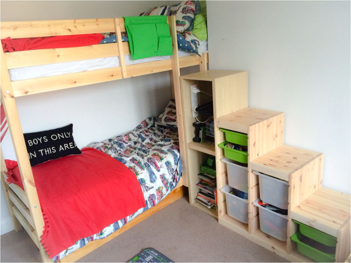 ikea bunk bed stairs hack ikea trofast steps with ikea besta and strictly beds and bunks everest bunk bed