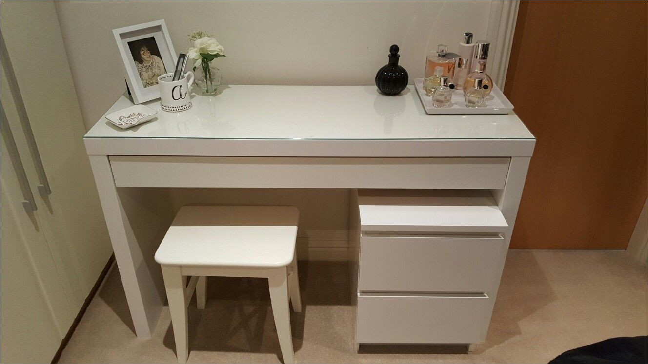 my dressing table idea with ikea malm dressing table stool and drawers