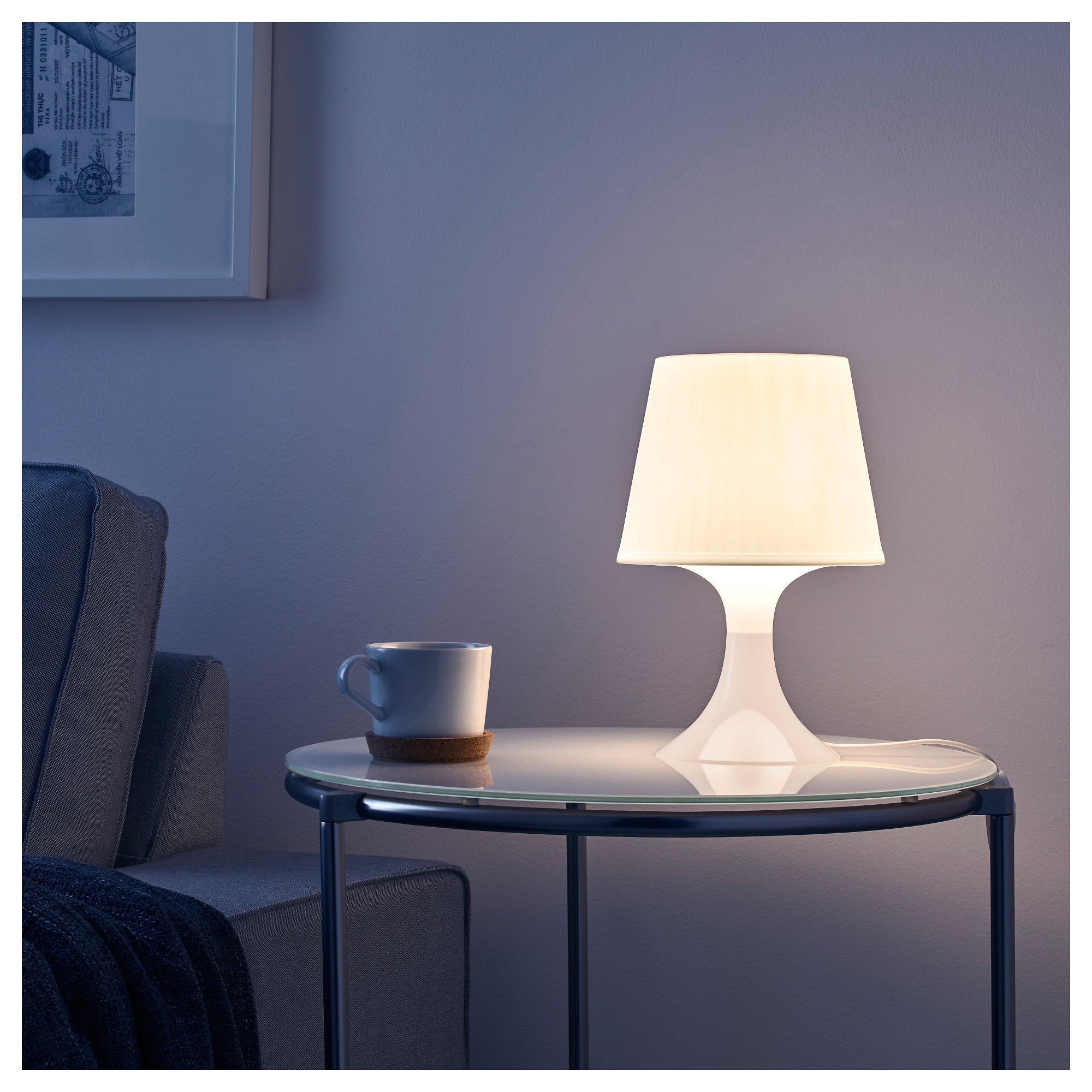 ikea lampan table lamp creates a soft cosy mood light in your room