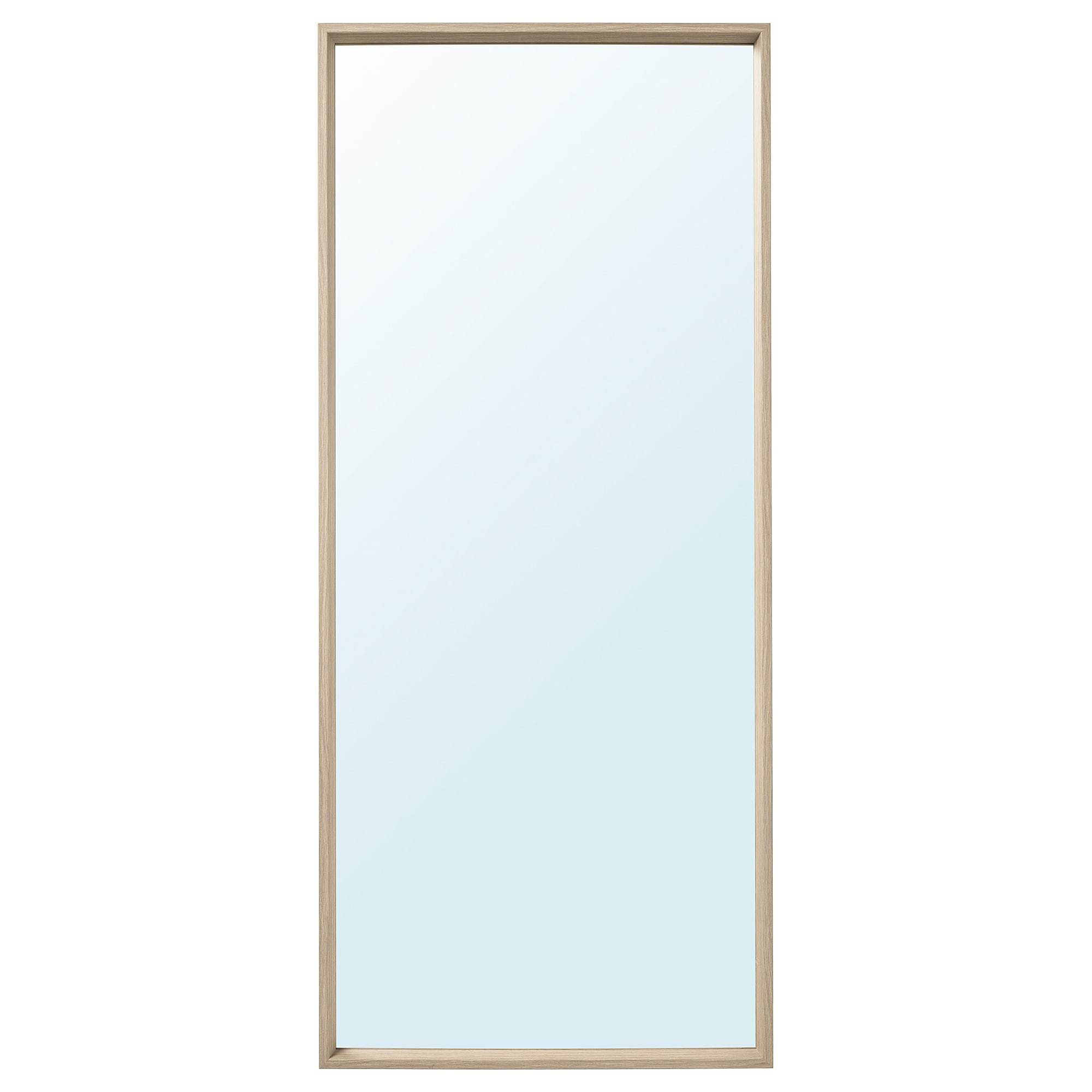 ikea nissedal mirror can be hung horizontally or vertically