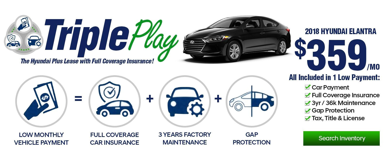 triple play 2018 hyundai elantra 359 mo