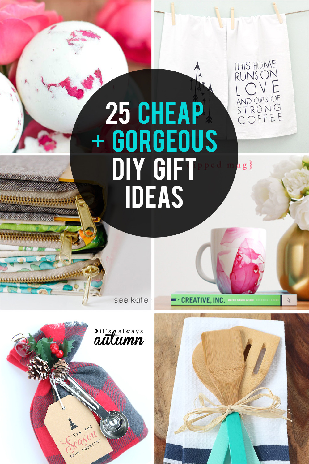 these diy gifts ideas are cheap and gorgeous great homemade gift ideas for christmas