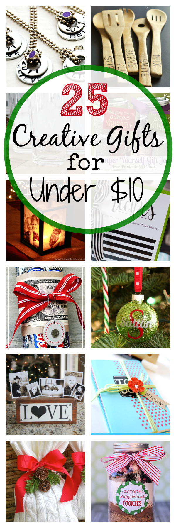 25 creative gift ideas that cost less than 10