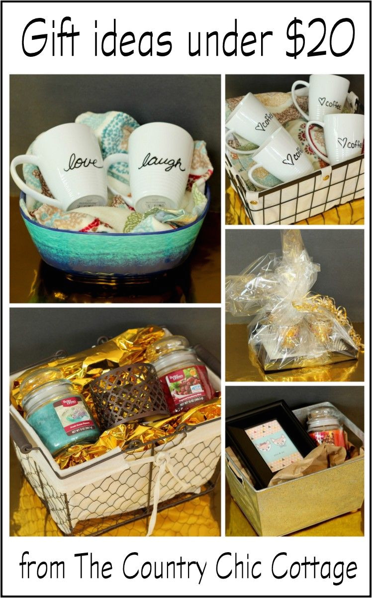 get 5 gift ideas under 20 here including the basket