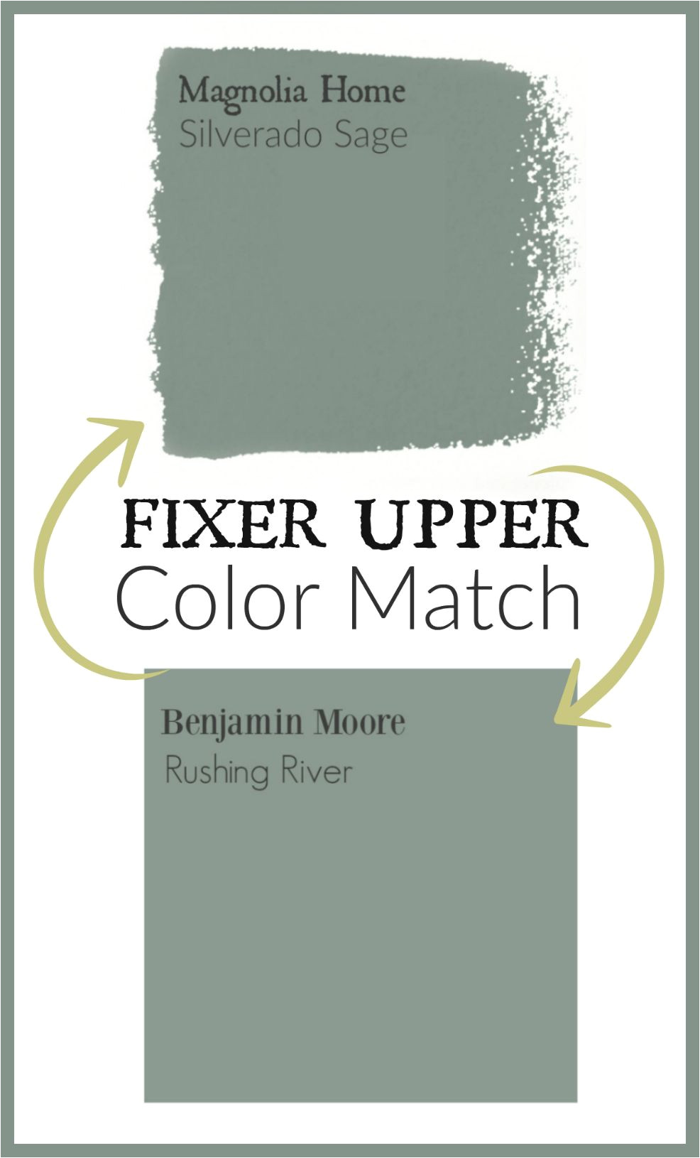 fixer upper paint color matched to benjamin moore paint