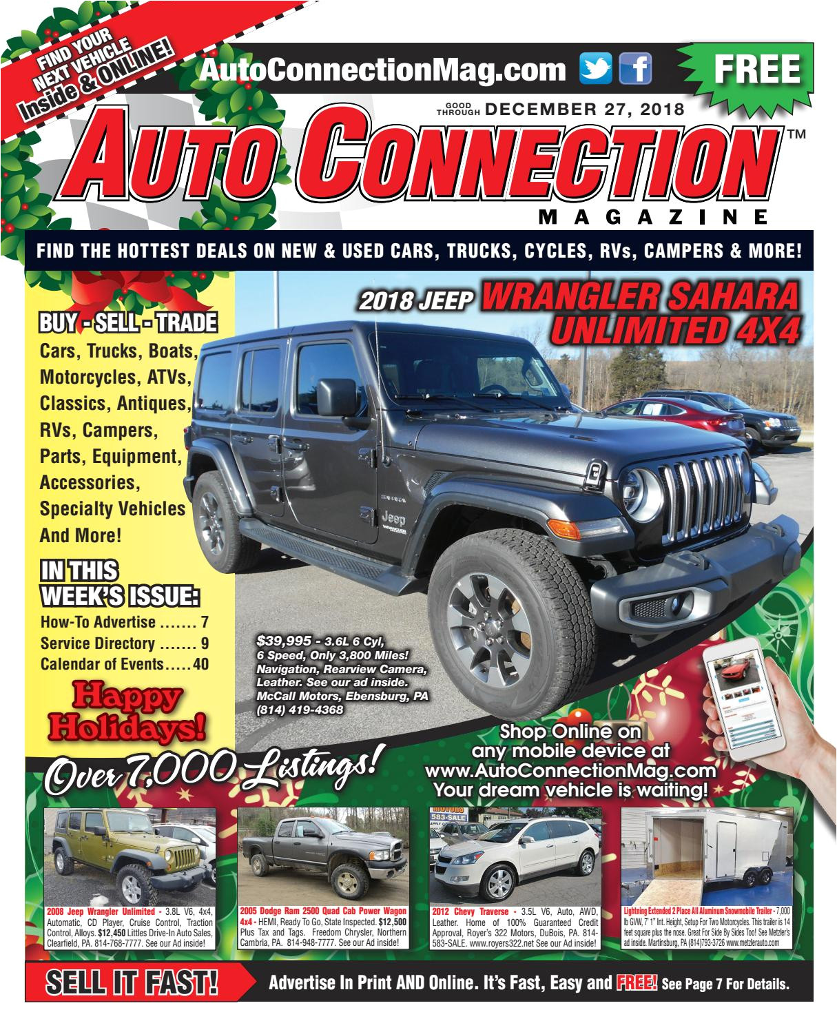 12 27 18 auto connection magazine by auto locator and auto connection issuu