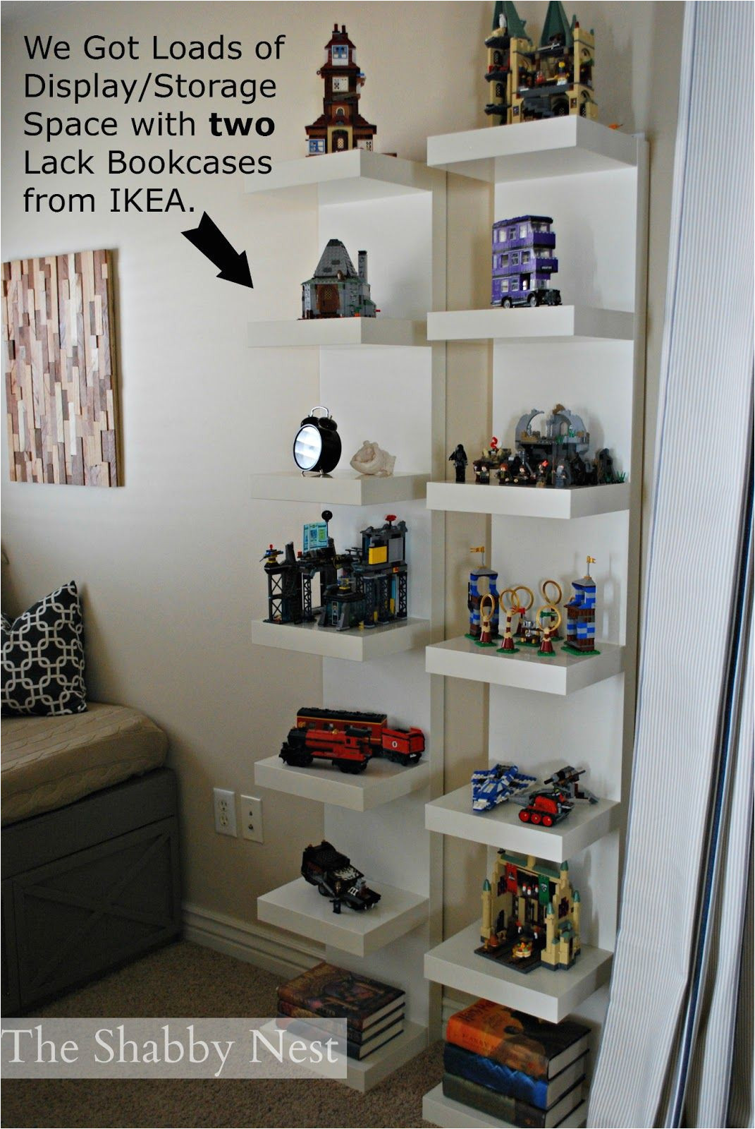 Lego Display Case Ikea Display Lego Collection We Used Lack Bookcases Ikea to Display