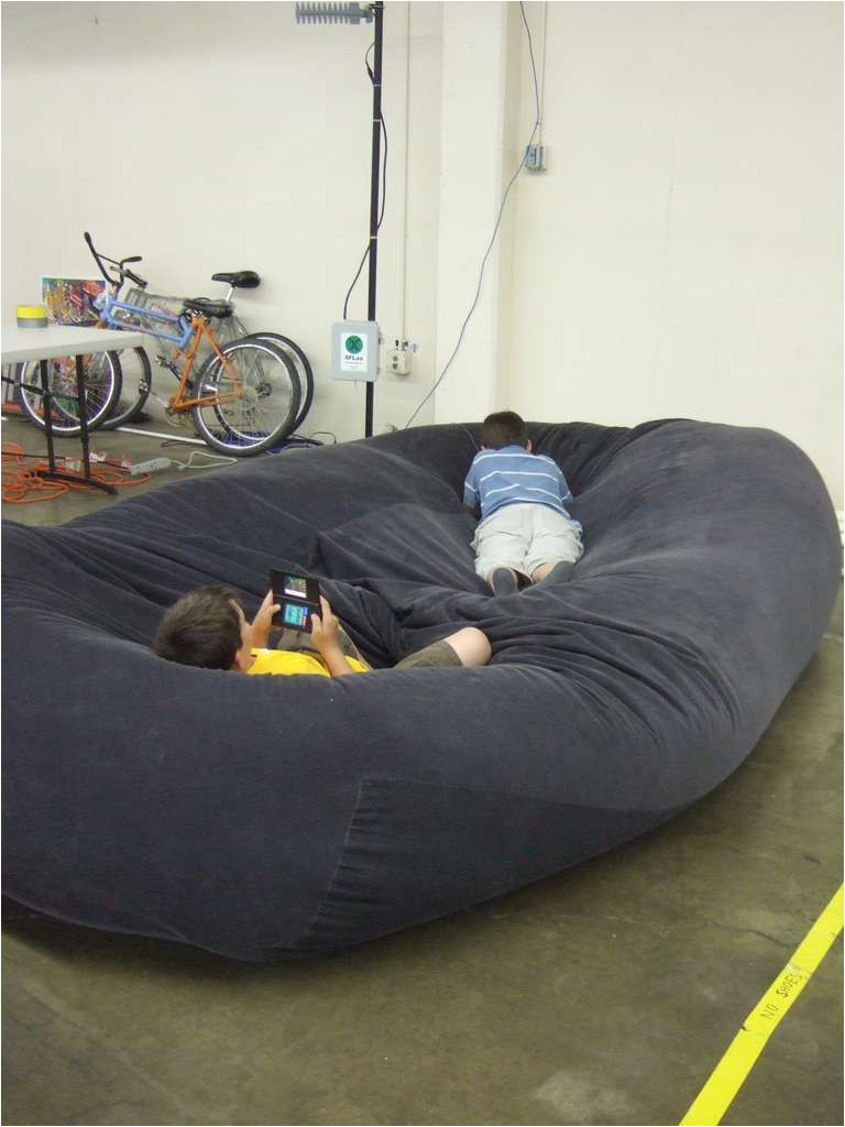 diy bean bag chair sofa comes with instructions for different sizes cool