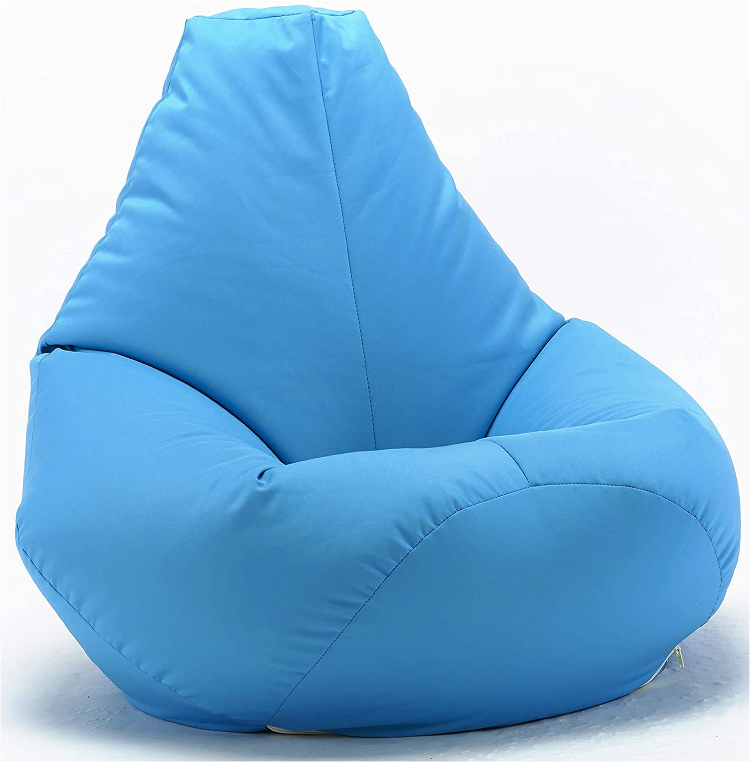 xx l aqua highback beanbag chair water resistant bean bags for indoor and outdoor use great for gaming chair and garden chair amazon co uk garden