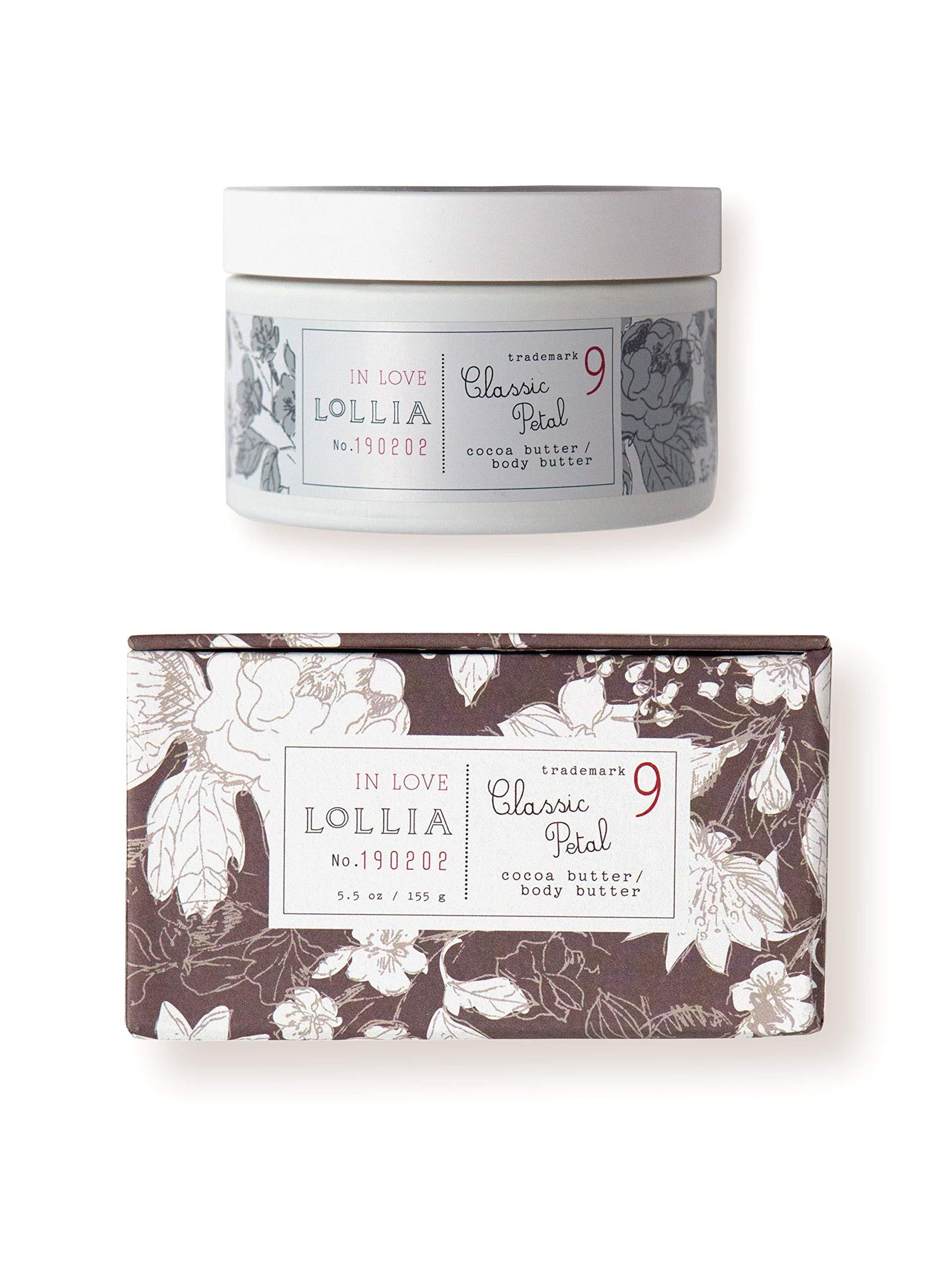 lollia in love whipped body butter margot elena s classic petal body cream 5 5 oz