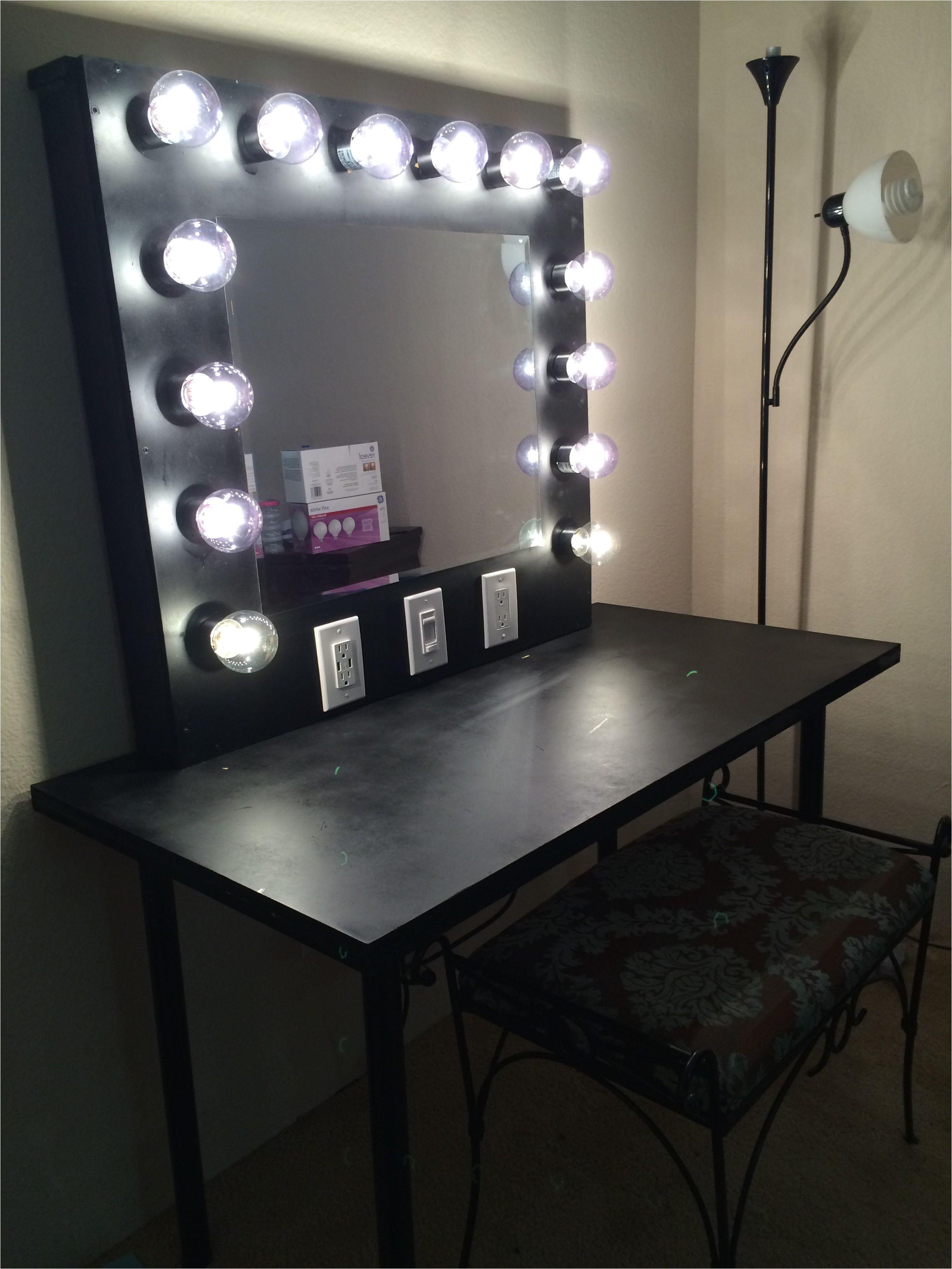Makeup Mirror with Light Bulbs Ikea 17 Diy Vanity Mirror Ideas to Make Your Room More Beautiful Diy