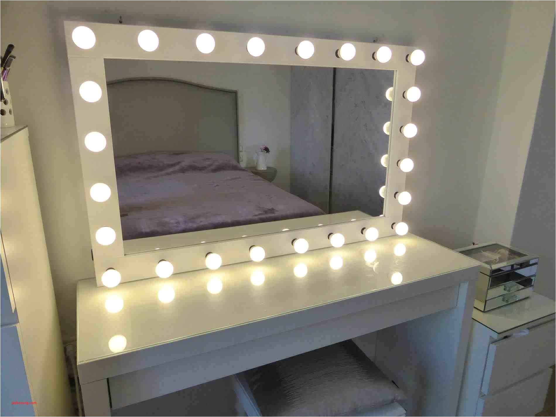 bedroom vanity mirror with lights gorgeous ikea malm table inspirational this vanity mirror with light bulbs
