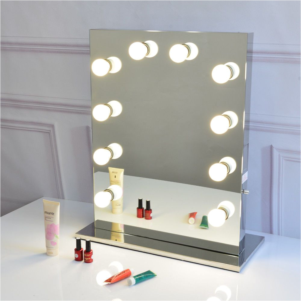 12 decorate full size led globe style bulbs included free hollywood makeup mirror led