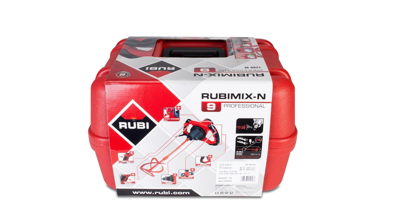24958 mezclador electrico rubimix 9 con maleta 210 240v 50 60hz 3 p rubi jpg