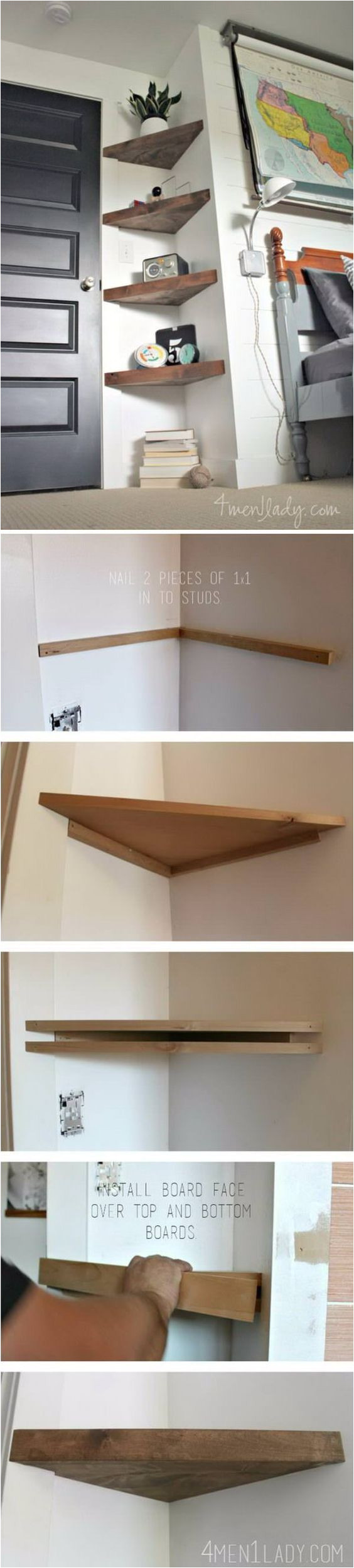20 diy corner shelves to beautify your awkward corner a great way to use those wasted spaces perfect if you re shirt on storage too