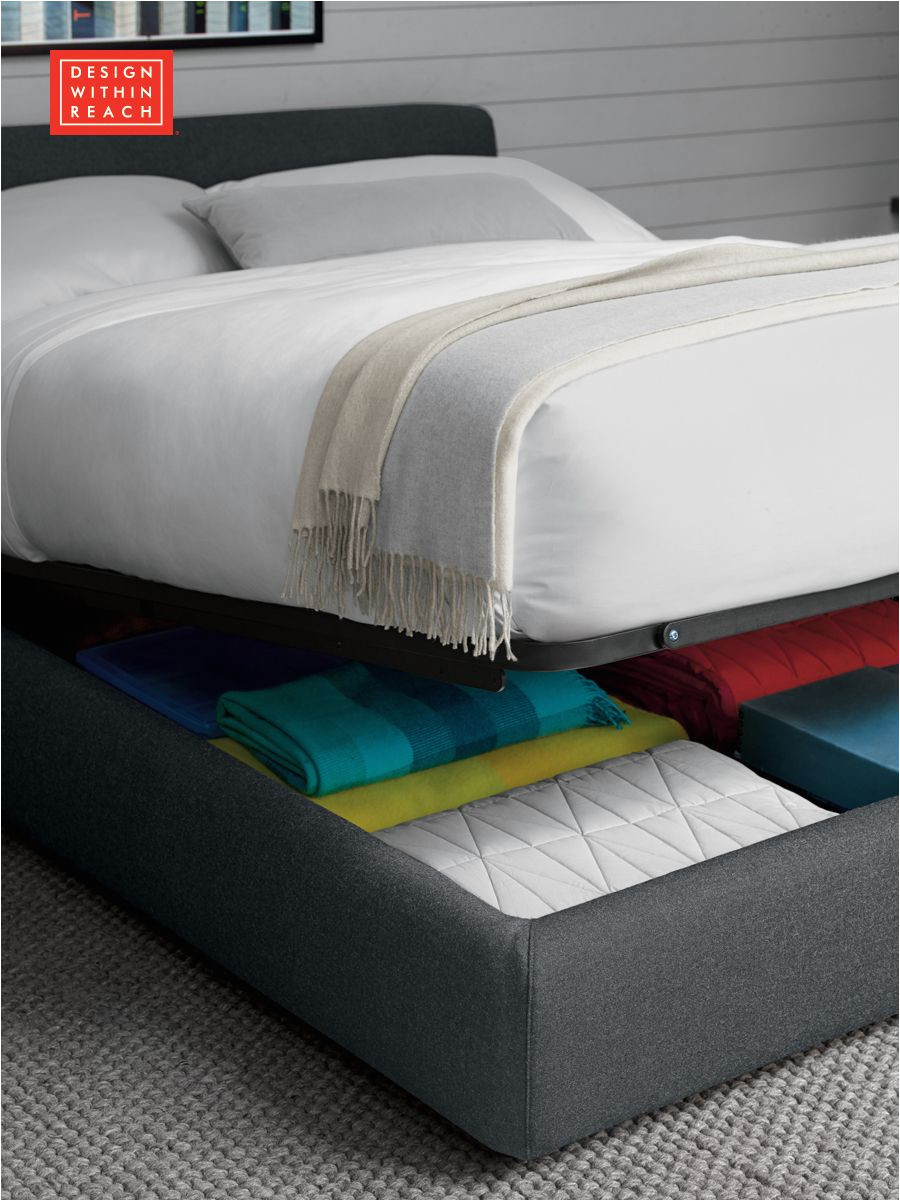 nest storage bed design within reach