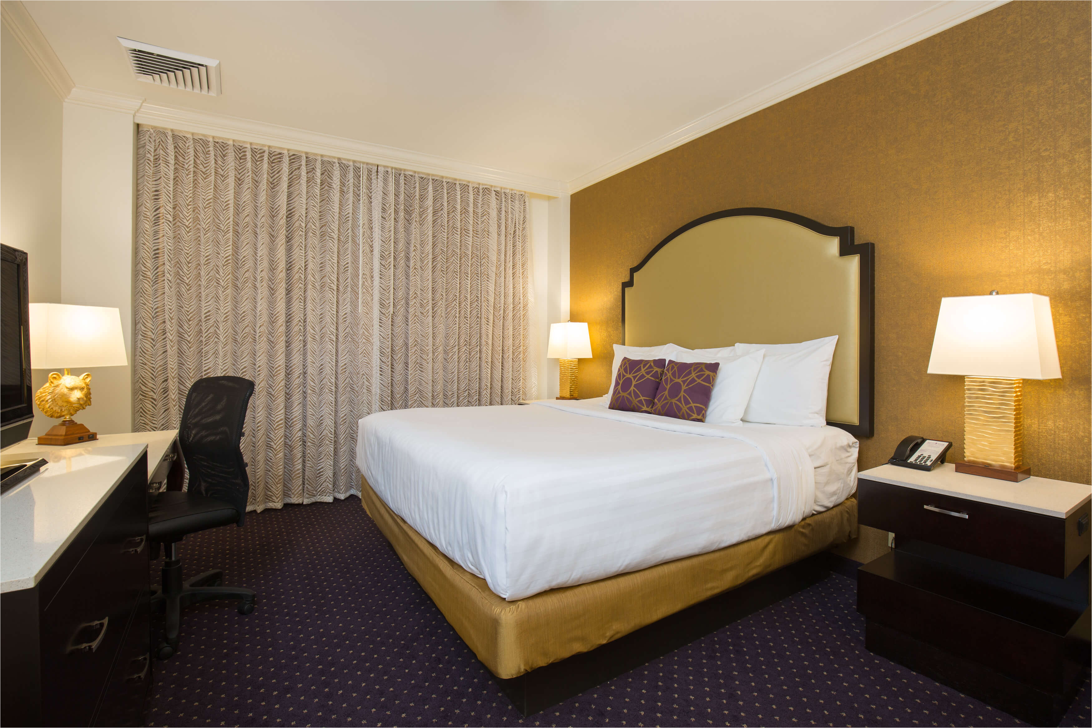 deluxe king or double guest room