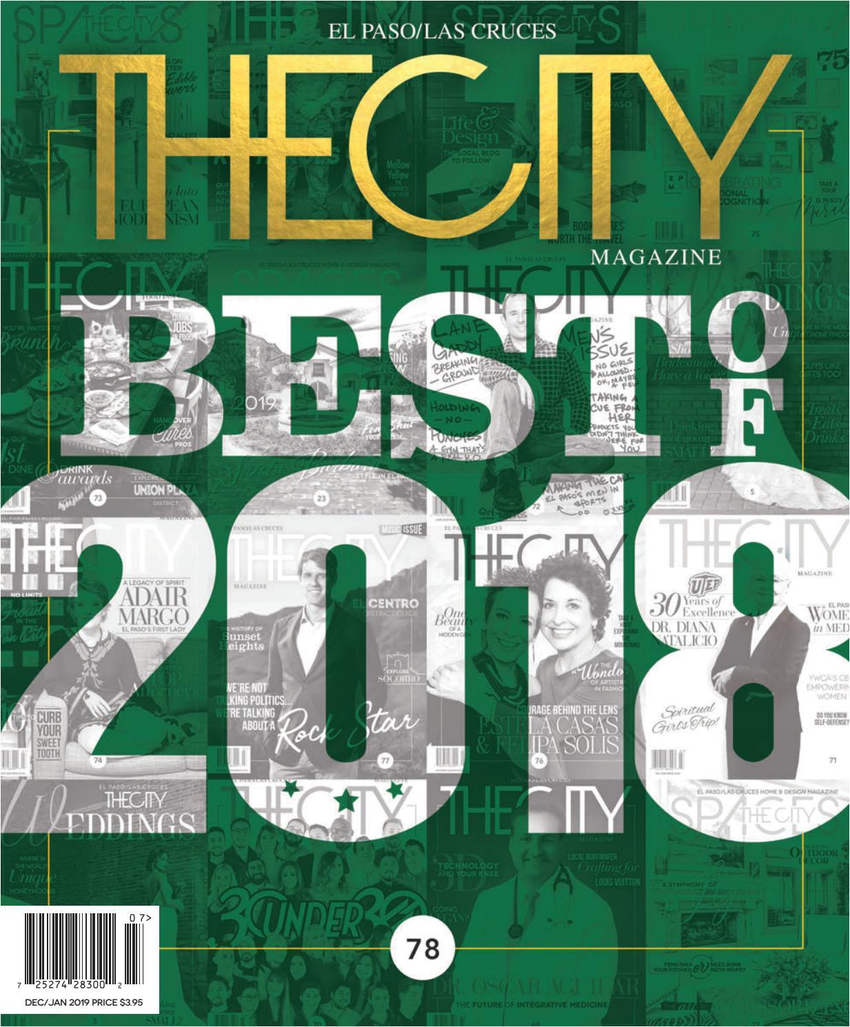 the city magazine el paso december 2018 january 2019 by thecity magazine el paso las cruces issuu