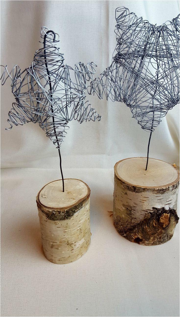 diy wire figures stars as table decoration craft girl christmas winter dek christmas craft decoration figures stars table winter