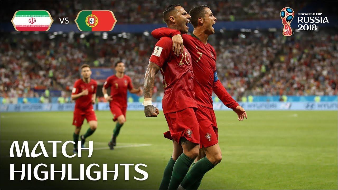ir iran v portugal 2018 fifa world cup russiaa match 35