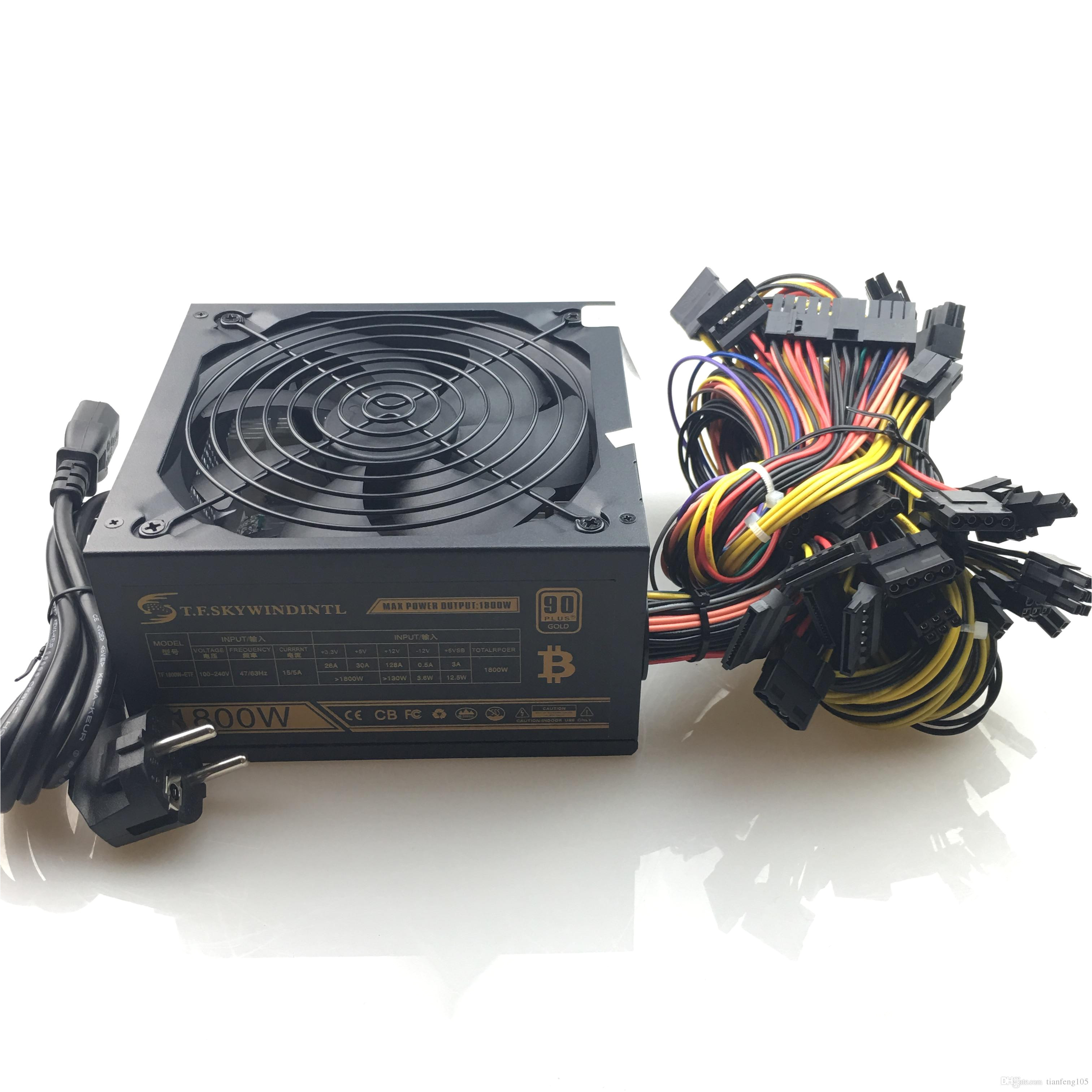 2018 newest 1800w pc mining power supply psu 24pin for bitcoin miner r9 380 390 rx 470 480 rx 570 1060 for antminer computer power supply circuit diagram