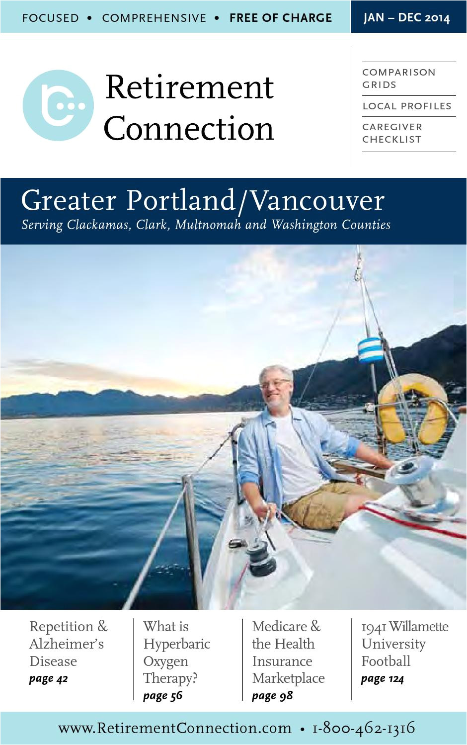 january 2014 retirement connection portland vancouver guide by retirement connection issuu
