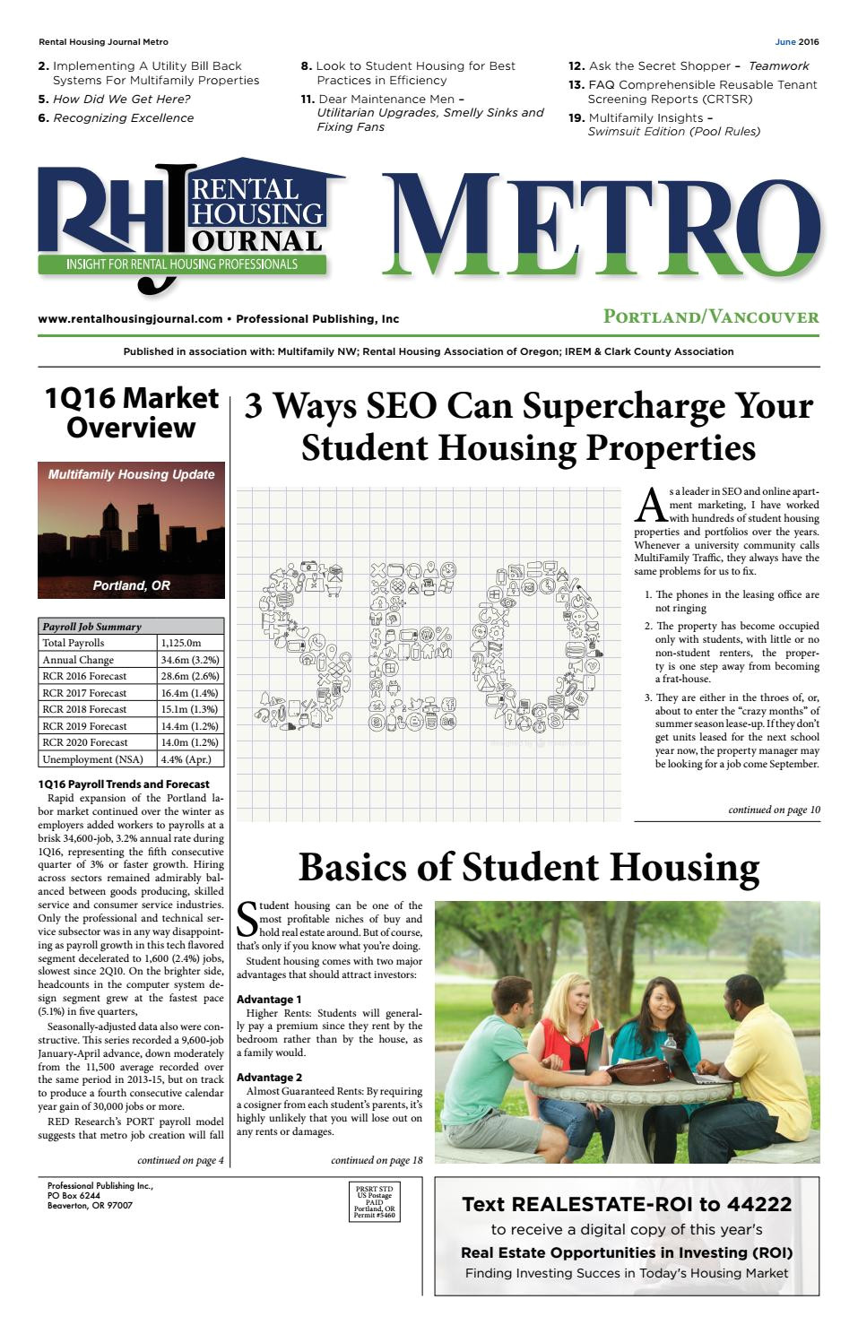 rental housing journal metro june 2016 by professional publishing inc issuu