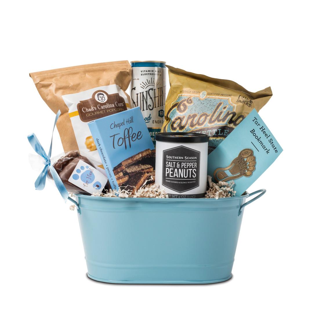 famous flavors gift sampler a taste of nc tar heel gift tin