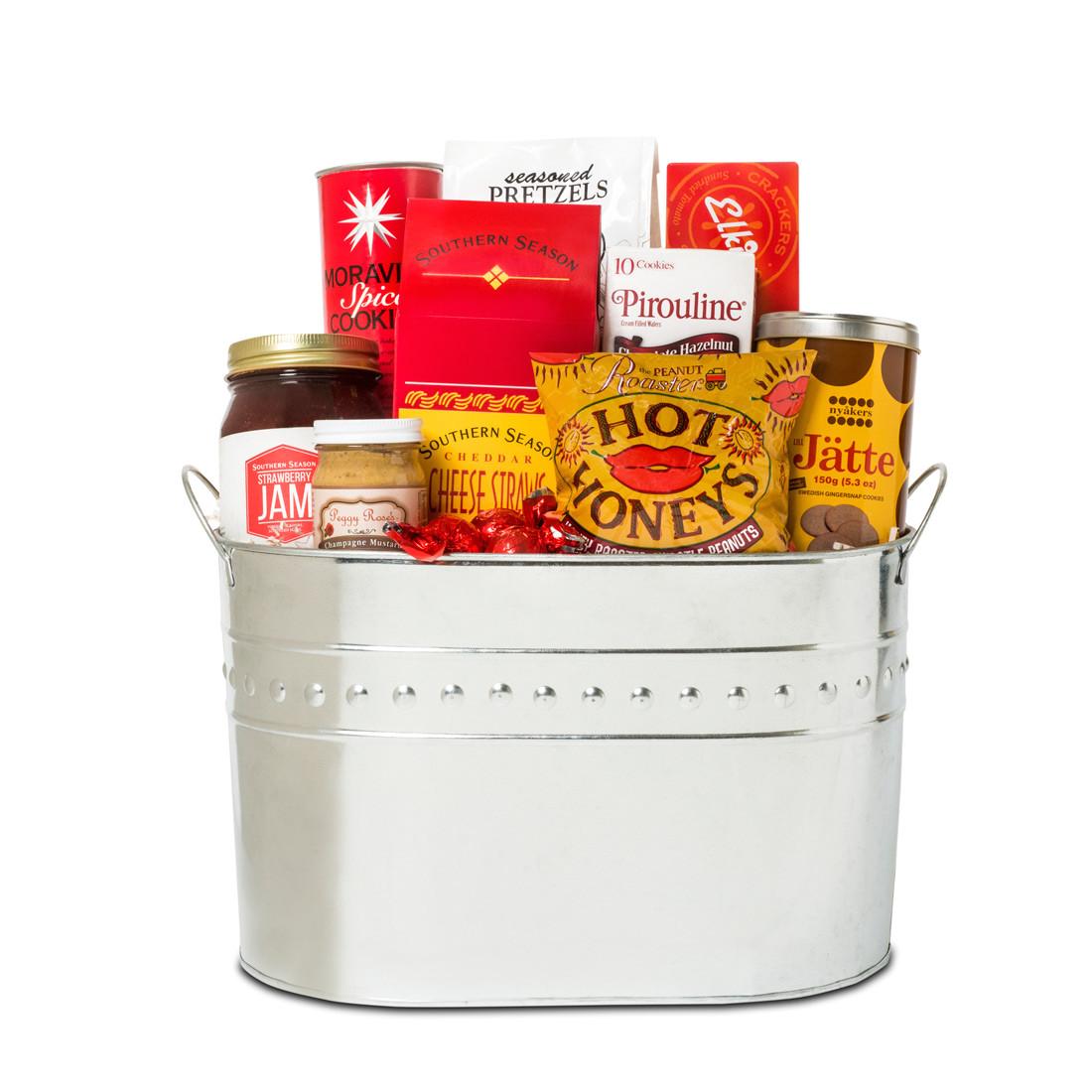 north carolina gourmet gift basket a splendid gourmet gift tin