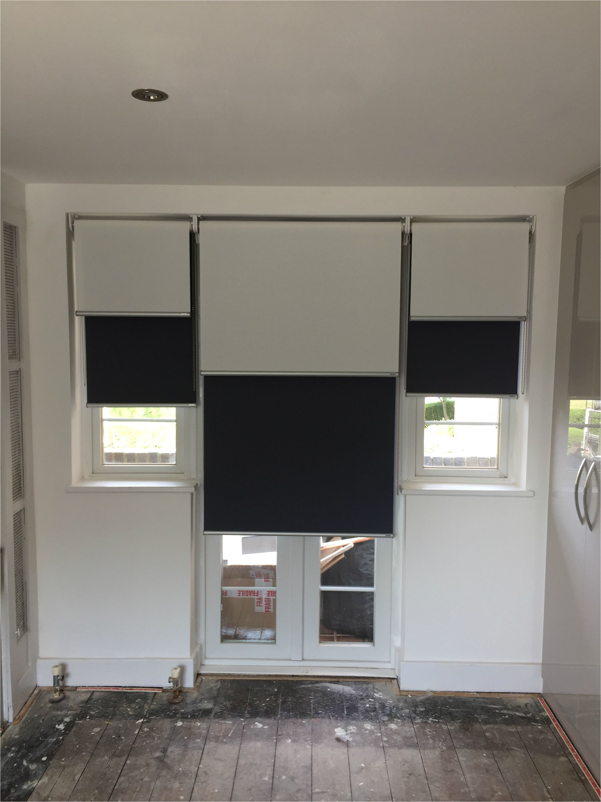 double dual roller blinds blackout and sunscreen roller blinds blinds for french doors made to measure modern blinds chiswick