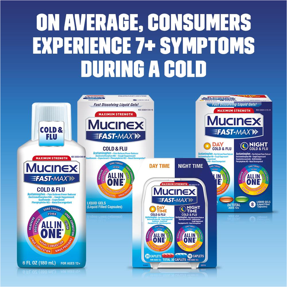 mucinex fast max max strength all in one day severe cold