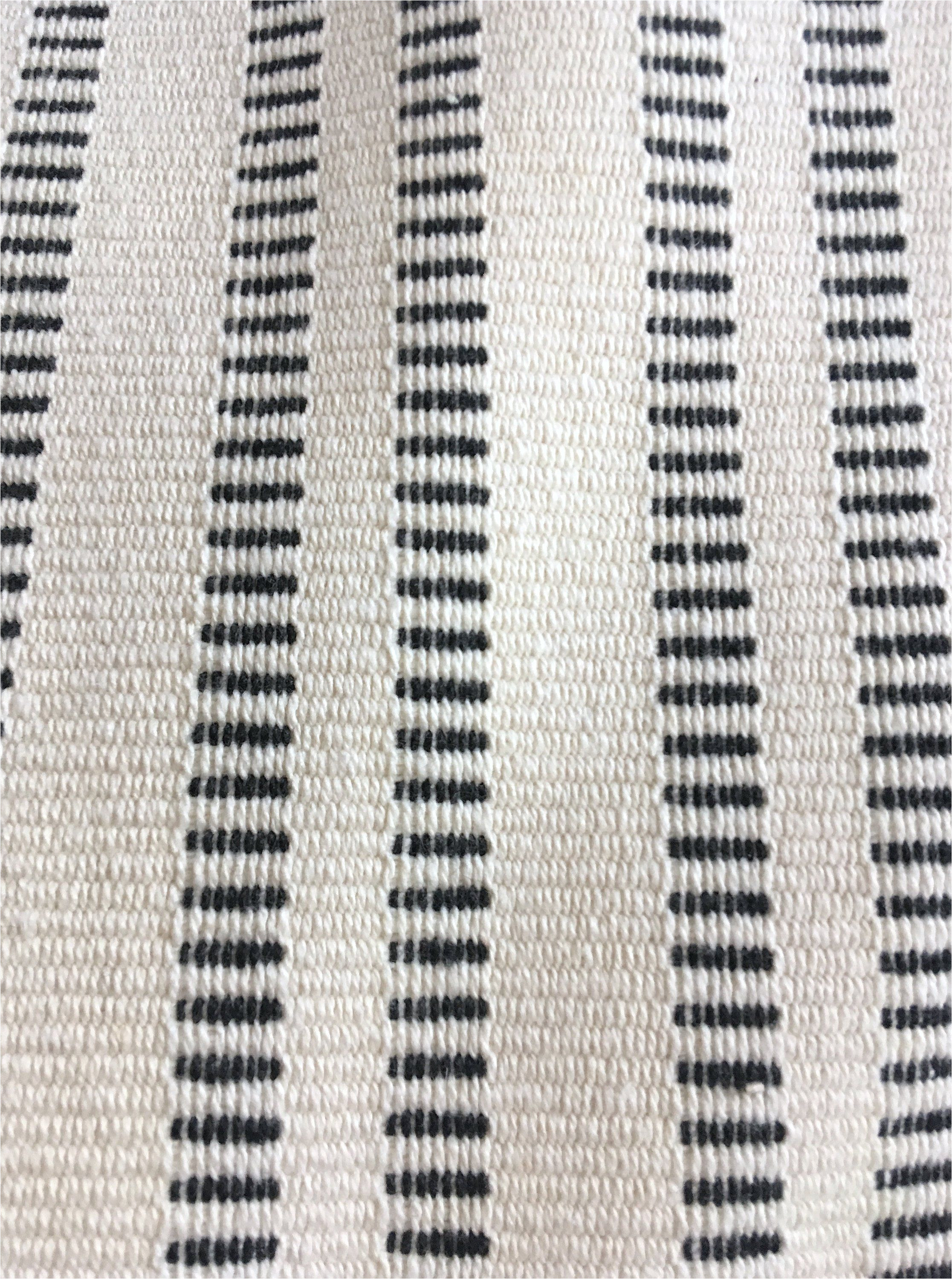 10 yards black ivory stripe upholstery fabric mudcloth fabric cotton upholstery minimalist heavyweight backed upholstery