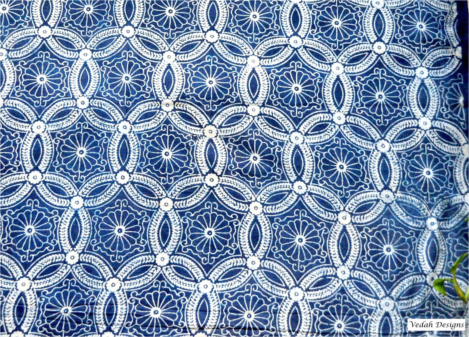 Mudcloth Print Fabric by the Yard Moroccan Design Indigo Fabric Mudcloth Block Print Fabric by Etsy